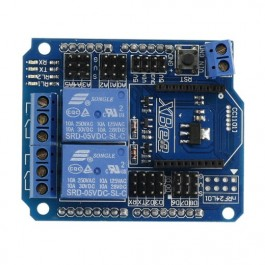 SainSmart 2 Channel Relay XBee BTBee Shield For Arduino UNO MEGA R3 Mega2560 Duemilanove Nano Robot