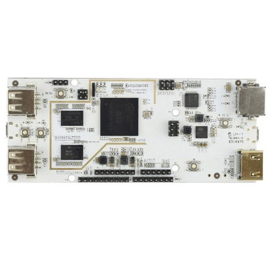Pcduino:Mini PC + Arduino  DEV-PCDUINO Microcontroller Development Board - White