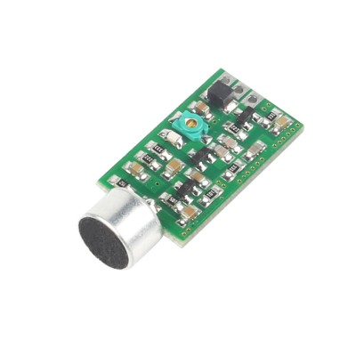 Mini FM Transmitter Module 88MHZ-108MHZ Mini Bug Wiretap Dictagraph Interceptor