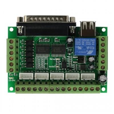 SainSmart 5 Axis Breakout Board for Stepper Motor Driver CNC Mill*Blue*