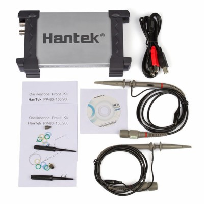 Hantek 6022BE PC-Based USB Digital Storage Oscilloscope 2-CH 20MHz 48MSa/s