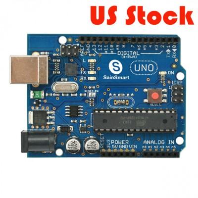 SainSmart UNO ATMEGA328P-PU ATMEGA8U2 Microcontroller For Arduino
