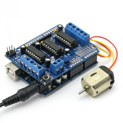 Sainsmart arduino uno prototype shield with breadboard for Arduino servo motor shield