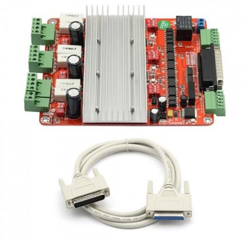Sainsmart Cnc Tb6560 3 Axis Stepper Motor Driver Controller Board Cable 3d Printing Arduino