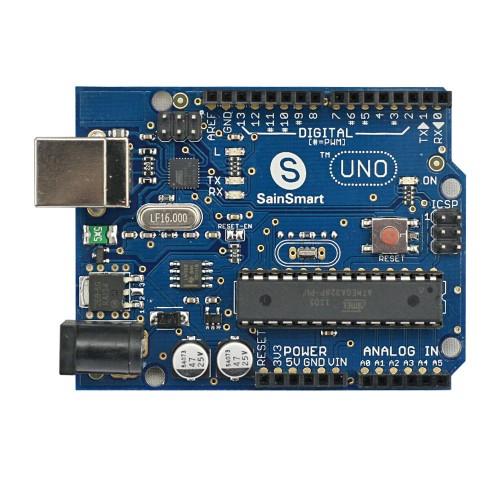 Sainsmart uno atmega p pu u microcontroller for
