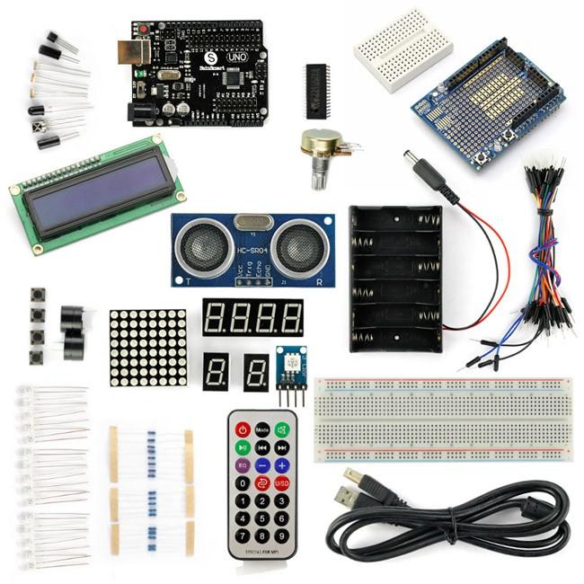 Sainsmart uno r distance sensor starter kit with basic