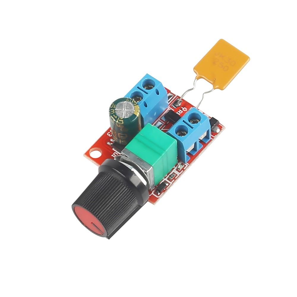 Mini Dc 5a Motor Pwm Speed Controller 3v 35v Speed Control