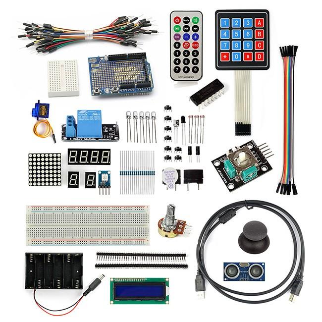 Sainsmart project starter kit for arduino uno r mega
