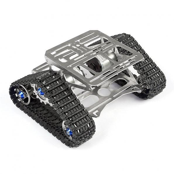 All metal robot tracks development platform fpv for