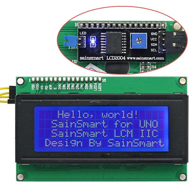 Sainsmart iic i c twi serial lcd module shield