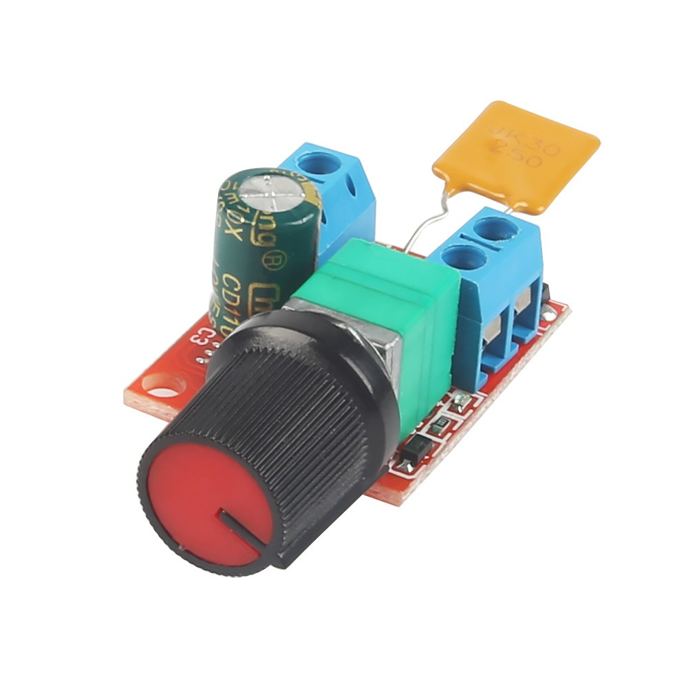 Mini dc 5a motor pwm speed controller 3v 35v speed control for Speed control electric motor