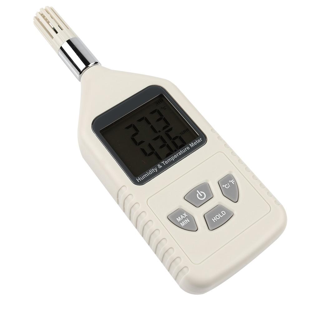 Temperature Humidity Meter : Gm handheld digital temperature and humidity meter
