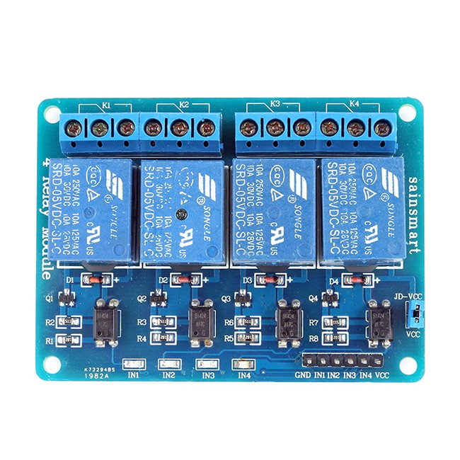 Sainsmart channel v relay module for pic arm avr dsp