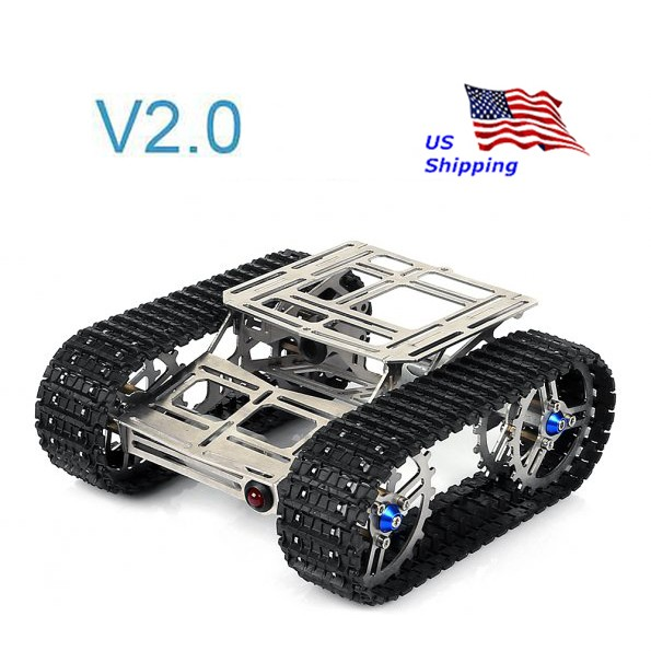 Sainsmart metal robot chassis track arduino tank