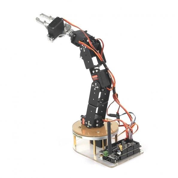 Sainsmart axis control palletizing robot arm model diy w