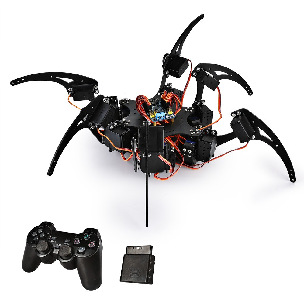 Sainsmart Hexapod 6 Legs Spider Robot With Sr317 Servo