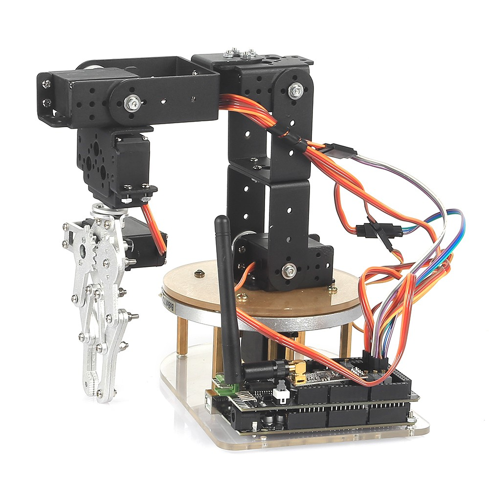 Sainsmart diy axis servo control robot arm ultimate kit