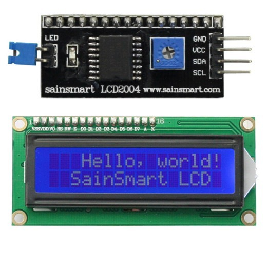 New sainsmart iic i c twi serial lcd module display