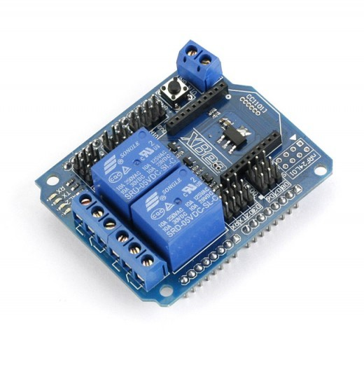 Sainsmart channel relay xbee btbee shield for arduino