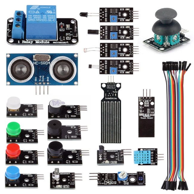 Sainsmart sensor modules starter kit for arduino uno mega