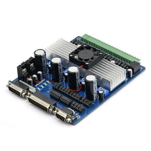 Sainsmart cnc tb6560 4 axis 3 5a stepper motor driver for Cnc stepper motor controller