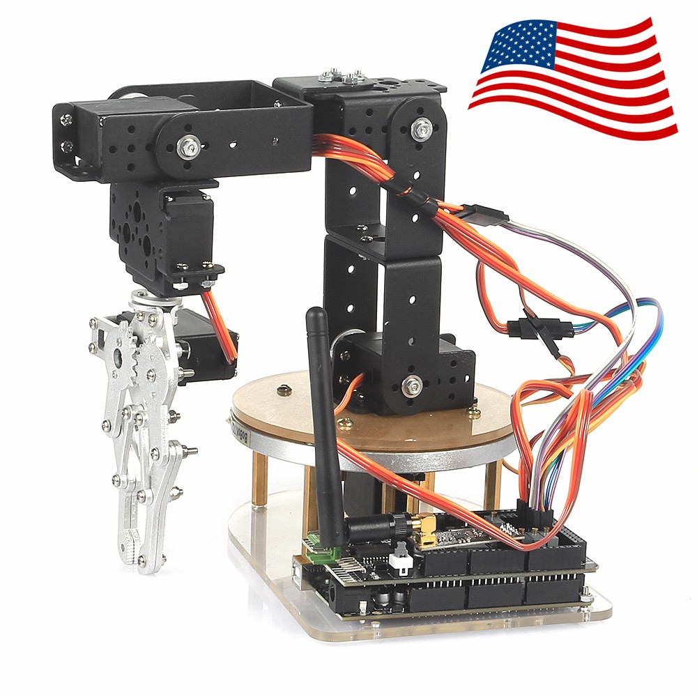 Sainsmart axis control palletizing robot arm model diy w