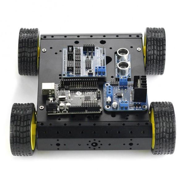 Sainsmart uno r sensor shield v wd mobile car l n hc