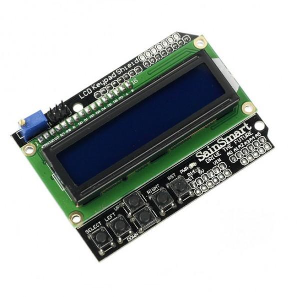 Sainsmart lcd keypad shield for arduino duemilanove