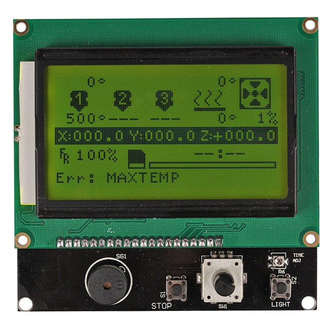 ramps 14 a4988 mega2560 r3 lcd 12864 3d printer