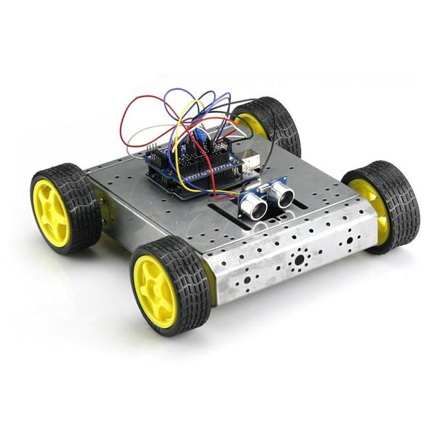 Sainsmart uno sensor shield v wd mobile car l n hc
