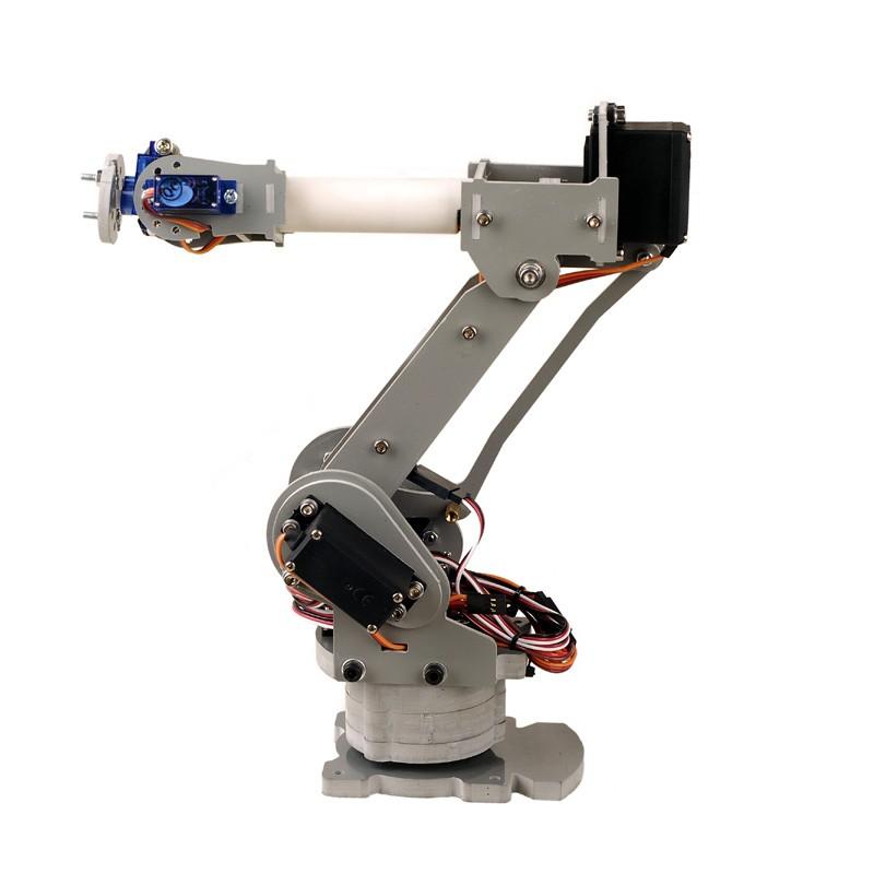 Homemade Robotic Arm Designs : Axis robot arm d printing arduino robotics sainsmart