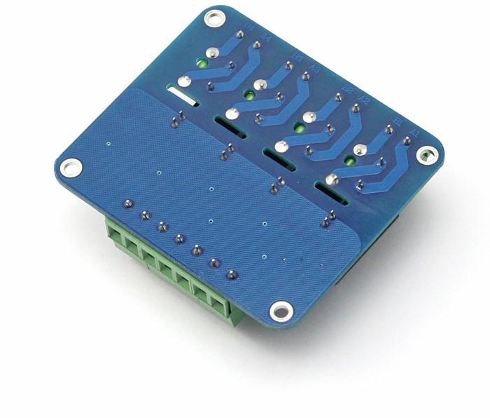 Sainsmart 4 Channel 5v Solid State Relay Module Board