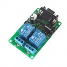 SainSmart DC 5V 2-Channel RS232 Serial Control Relay Switch Board SCM PC Relay Controller