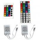 24Key / 44 Key IR Remote Controller DC 12V for RGB LED 3528 5050 SMD Strip Lights