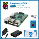 SainSmart Raspberry Pi 3 Starter Kit : ABS Case + 3x Heat Sinks + USB Charger (UL Listed) Tutorials&Codes