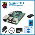 SainSmart Raspberry Pi 3 Complete Kit : ABS Case + SD Card + HDMI + HeatSinks + USB Charger (UL Listed) Tutorials&Codes