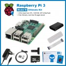 SainSmart Raspberry Pi 3 Ultimate Kit : ABS Case + SD Card + Breadboard + HDMI + 40 Pins GPIO + Aluminium Heatsink