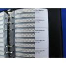 SainSmart 0805 SMD SMT Chip Capacitors Assortment Kit 92 Values 4600 pcs Assorted Sample Book