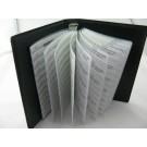 SainSmart 0603 SMD Capacitor Assorted Folder 90 Value 4500 pcs Chip Capacitor Booklet