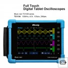 Digital Tablet Oscilloscope 100MHz 4 Ch 28Mpts TO1104