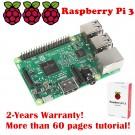 New Raspberry Pi 3 (RPi3) Model B Quad-Core 1.2 GHz 1 GB RAM On-board WiFi and Bluetooth (2016 Model)