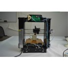 3D Printer DIY Prusa i3 X Print 6 Filament Full Acrylic Frame Self-assembly