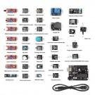 SainSmart 37 in 1 Sensor Modul Kit + UNO R3 ATmega328P for Arduino Compatible & RPI