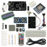 SainSmart MEGA2560 R3+Distance Sensor Starter Kit With 19 Basic Arduino Projects