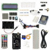 SainSmart MEGA2560 R3+5V Servo motor Starter Kit With Basic Arduino Projects