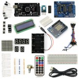 SainSmart MEGA2560 R3+L293D Motor Drive Shield Starter Kit With Basic Arduino Projects