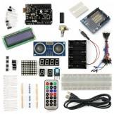 SainSmart UNO R3+Distance Sensor Starter Kit With 19 Basic Arduino Projects