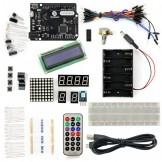 SainSmart Leonardo R3+1602LCD Starter Kit With 17 Basic Arduino Projects