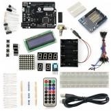 SainSmart Leonardo R3+Prototype Shield  Starter Kit With 17 Basic Arduino Projects