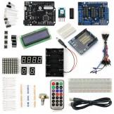 SainSmart Leonardo R3 Starter Kit for Arduino (1602CLD + Prototype Mini Breadboard + L293D Motor Drive Shield included)